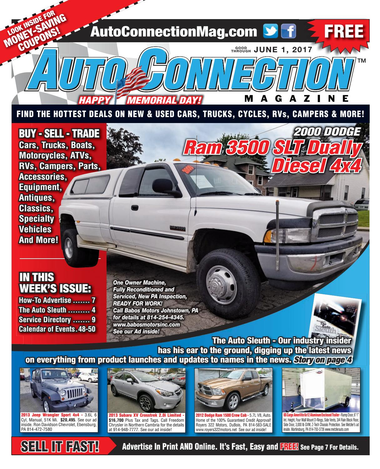 06-01-17 Auto Connection Magazine by Auto Connection Magazine - issuu