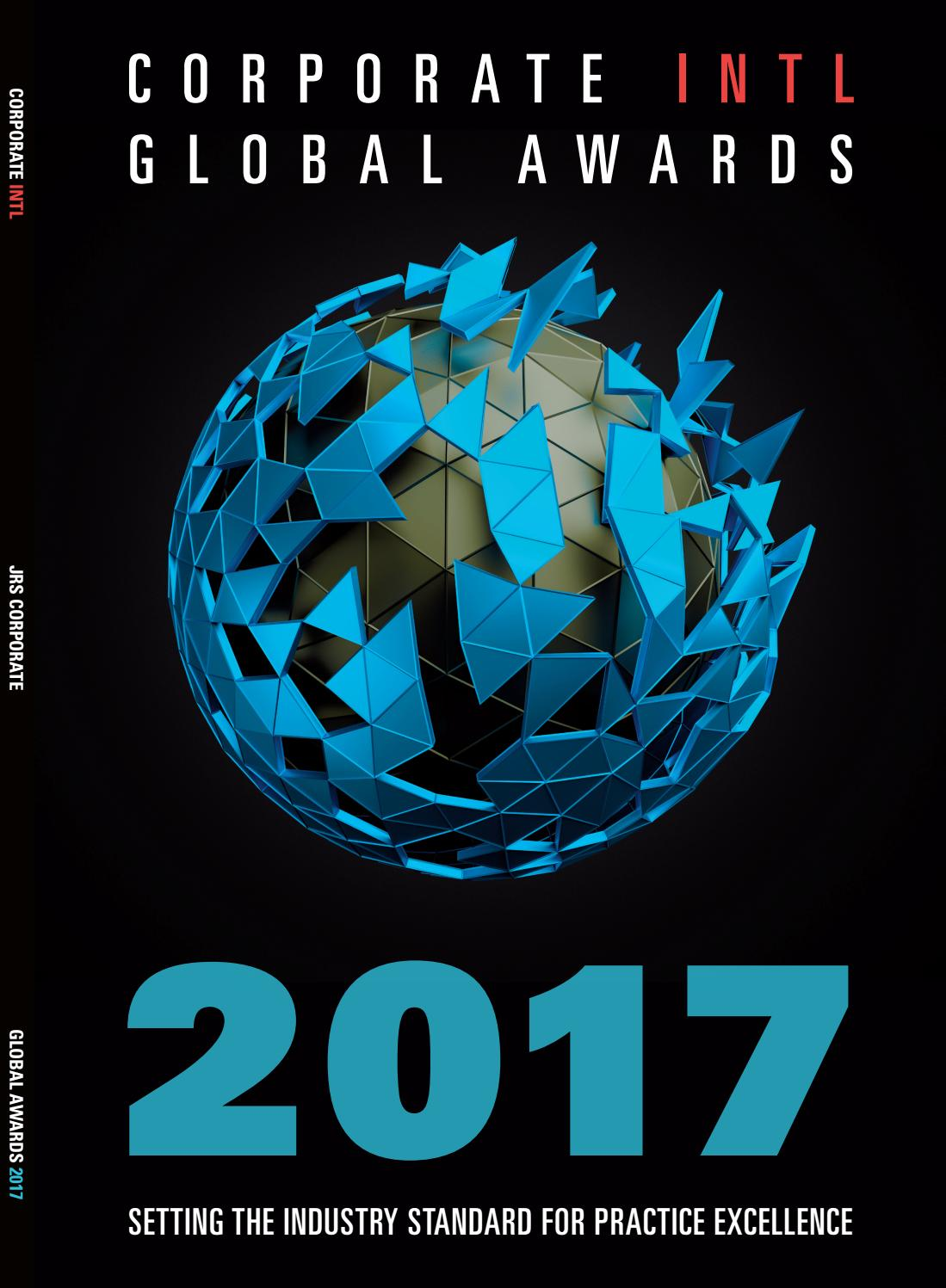 Corporate INTL Global Awards 2017 by Jrs Corporate Ltd - issuu