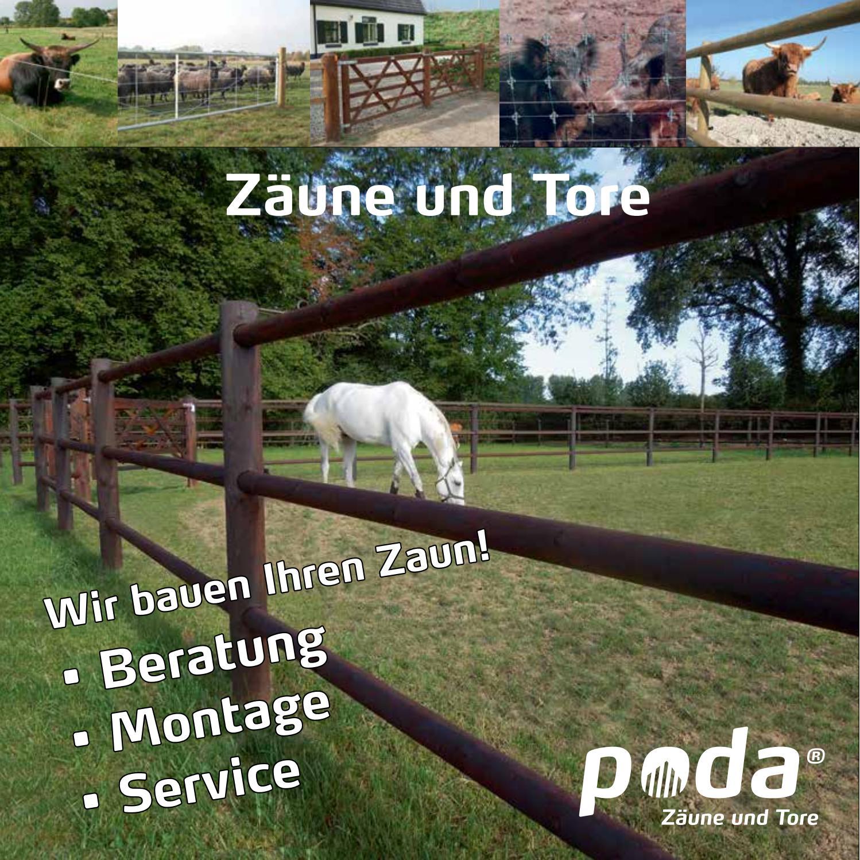 Poda OWL Katalog 2017 Zäune & Tore by poda owl - issuu