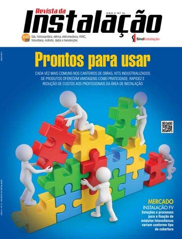 a81852c6056bf Edição 14 da Revista da Instalação - maio de 2017 by Revista ...
