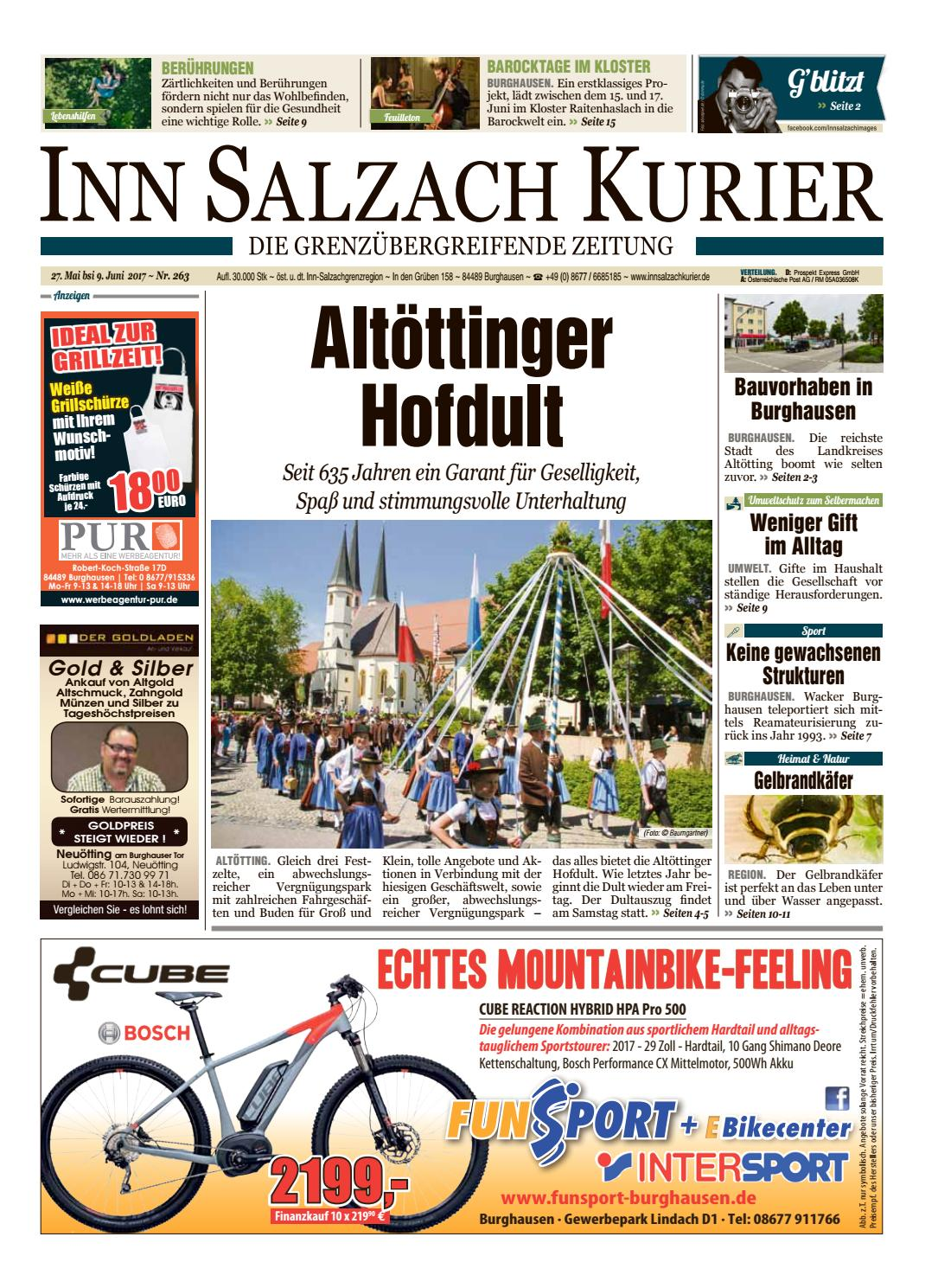 inn salzach kurier ausgabe 263 by inn salzach kurier. Black Bedroom Furniture Sets. Home Design Ideas