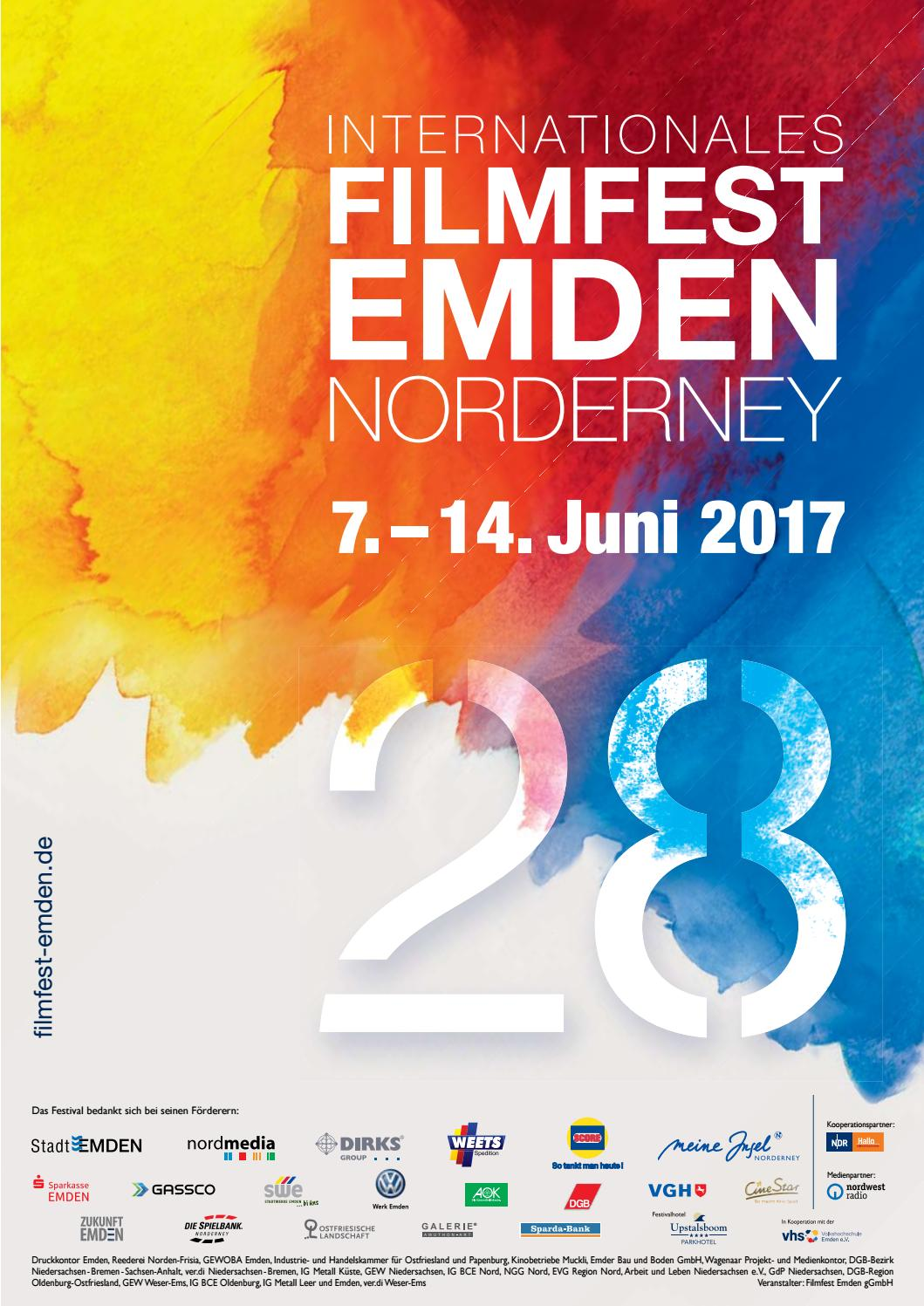Katalog 2017 Filmfest Emden-Norderney by Internationales Filmfest  Emden-Norderney - issuu