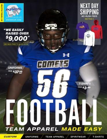 2017 Ares Sportswear Football Catalog by Ares Sportswear - issuu 85b9aa3e3