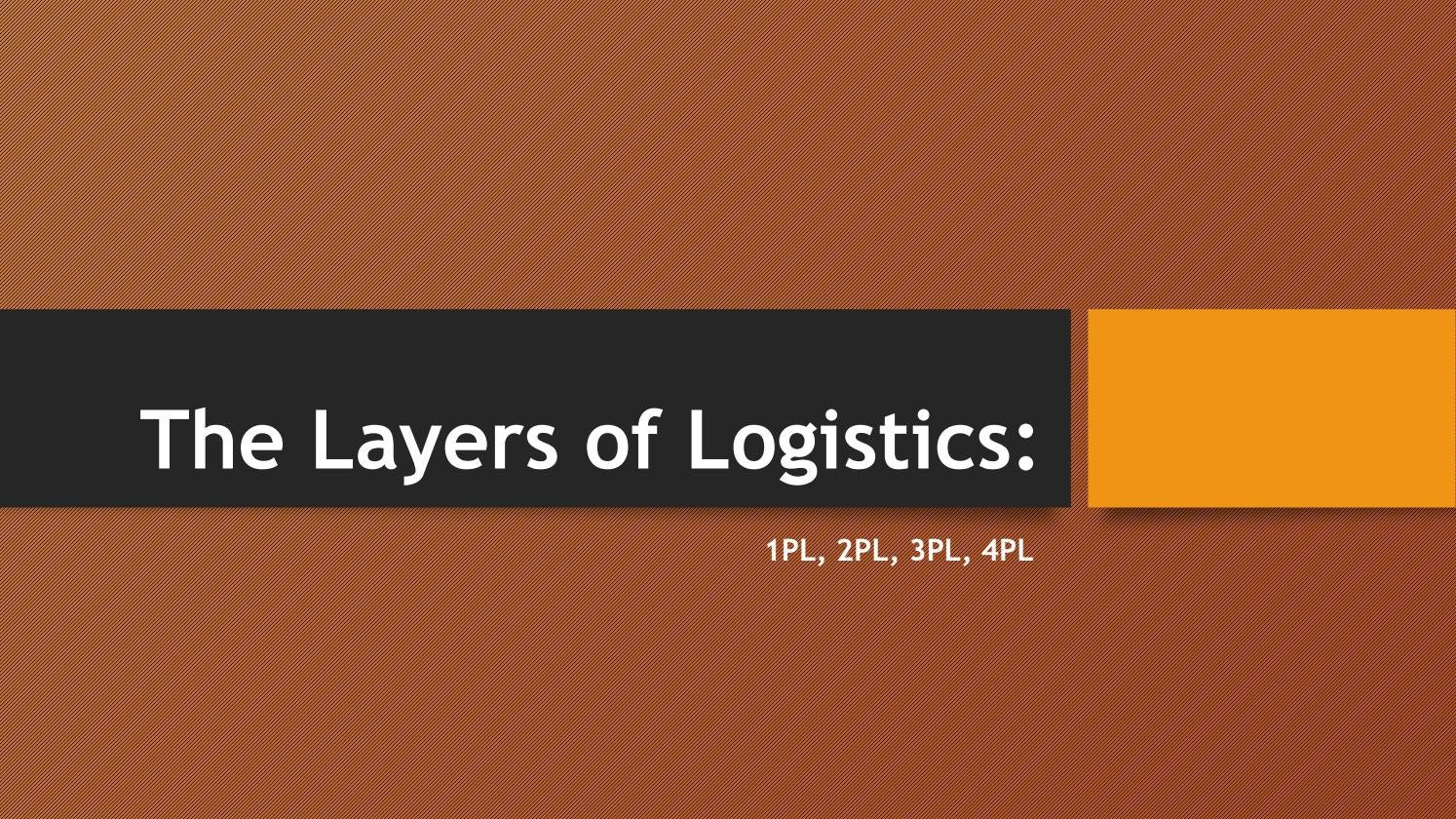 difference between 3pl and 4pl logistics pdf