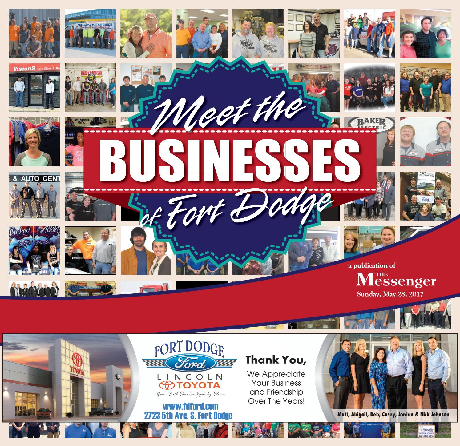 Meet The Businesses Of Fort Dodge By Newspaper