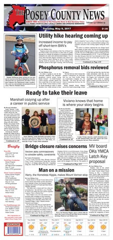May 9 2017 The Posey County News By The Posey County News Issuu