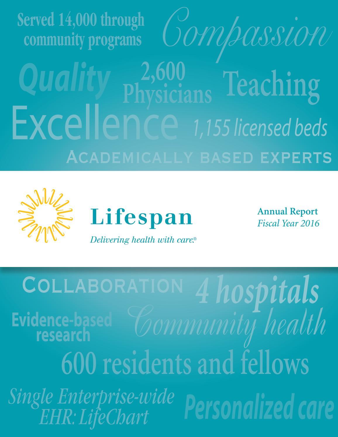 Lifespan Annual Report 2016 by lifespanmc - issuu