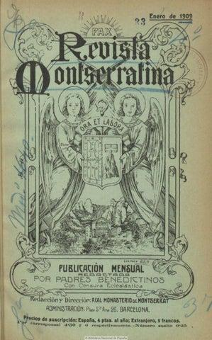wholesale dealer 16580 e8d68 Revista montserratina 1909 by Jordi Lopez Camps - issuu