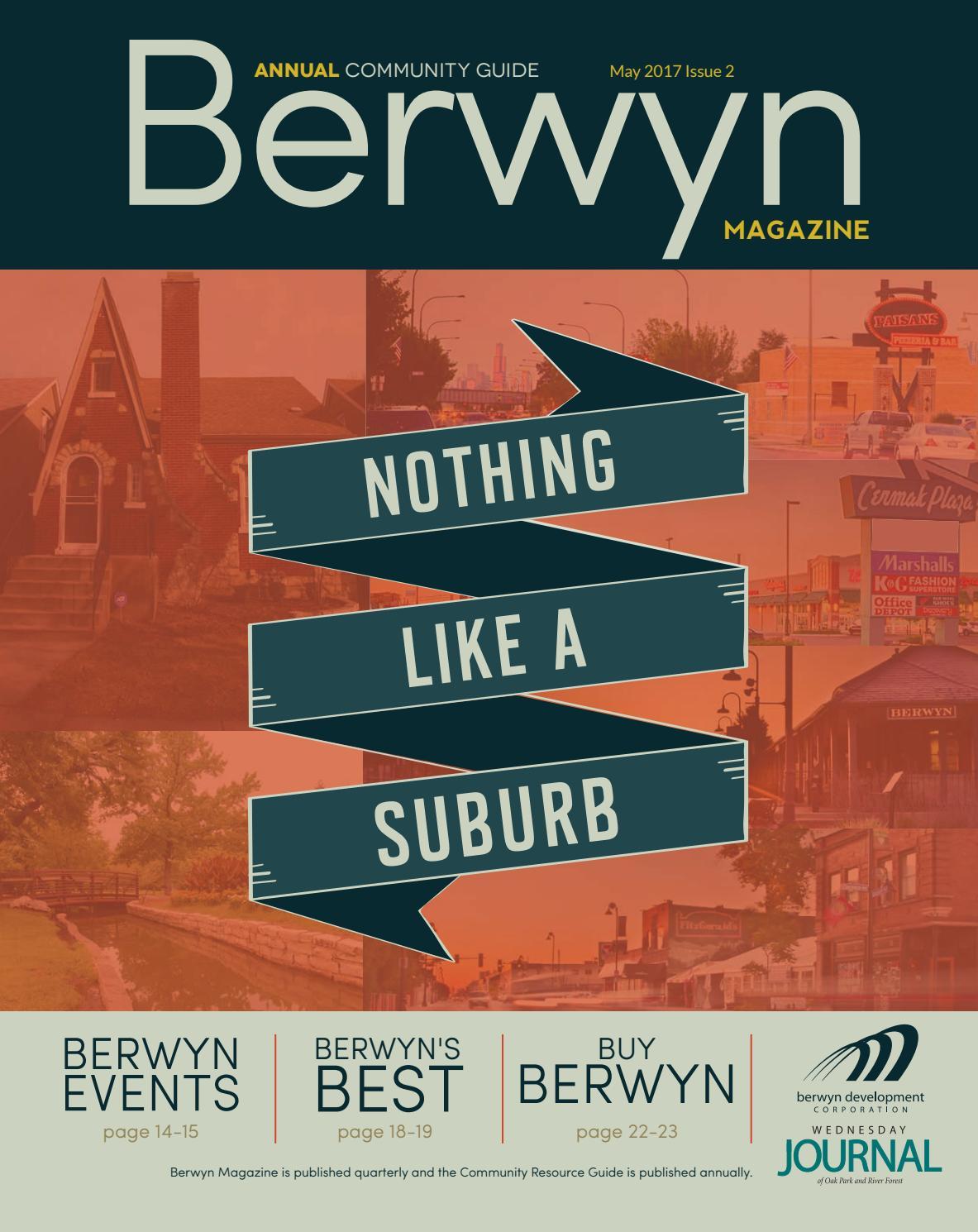 32241a51c3 2017 Berwyn Magazine and Community Resource Guide - Issue 2 by Berwyn  Development Corporation - issuu