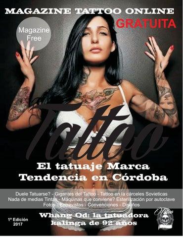 Revista Tattoo En Córdoba Primera Edición By Yturrioz Issuu