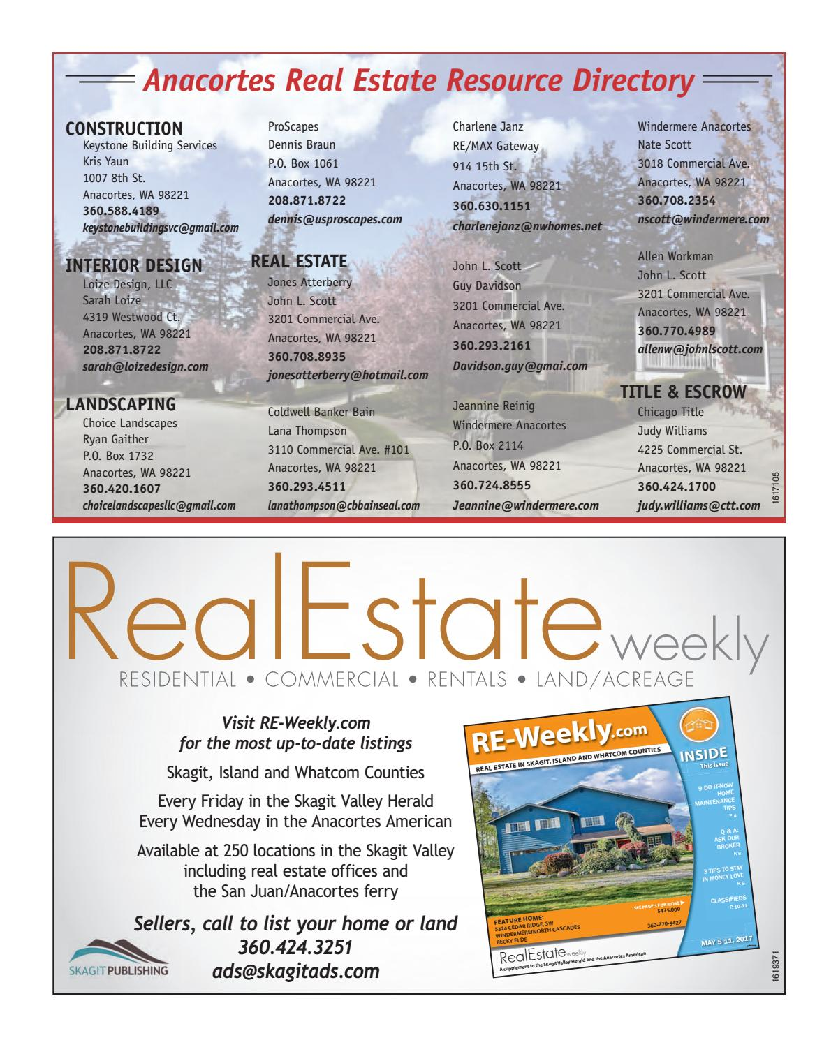 2017 ANACORTES REAL ESTATE ON THE MOVE by Skagit Publishing - Issuu