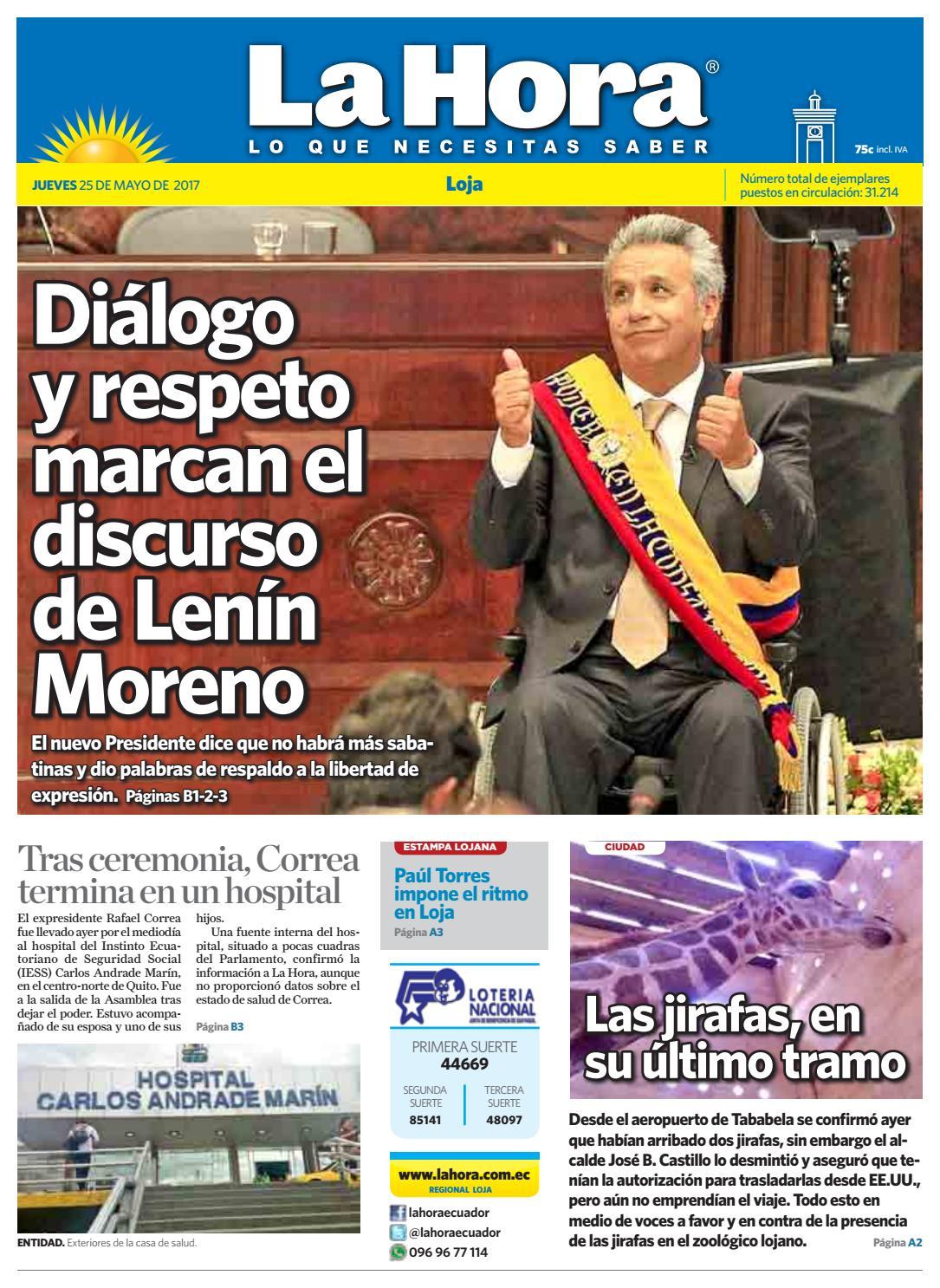 Diario La Hora Loja 16 De Noviembre 2017 By Diario La Hora Ecuador  # Muebles Moya Loja