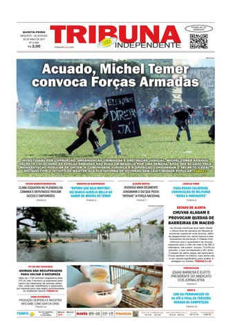 81099b852 Edição número 2905 - 25 de maio de 2017 by Tribuna Hoje - issuu