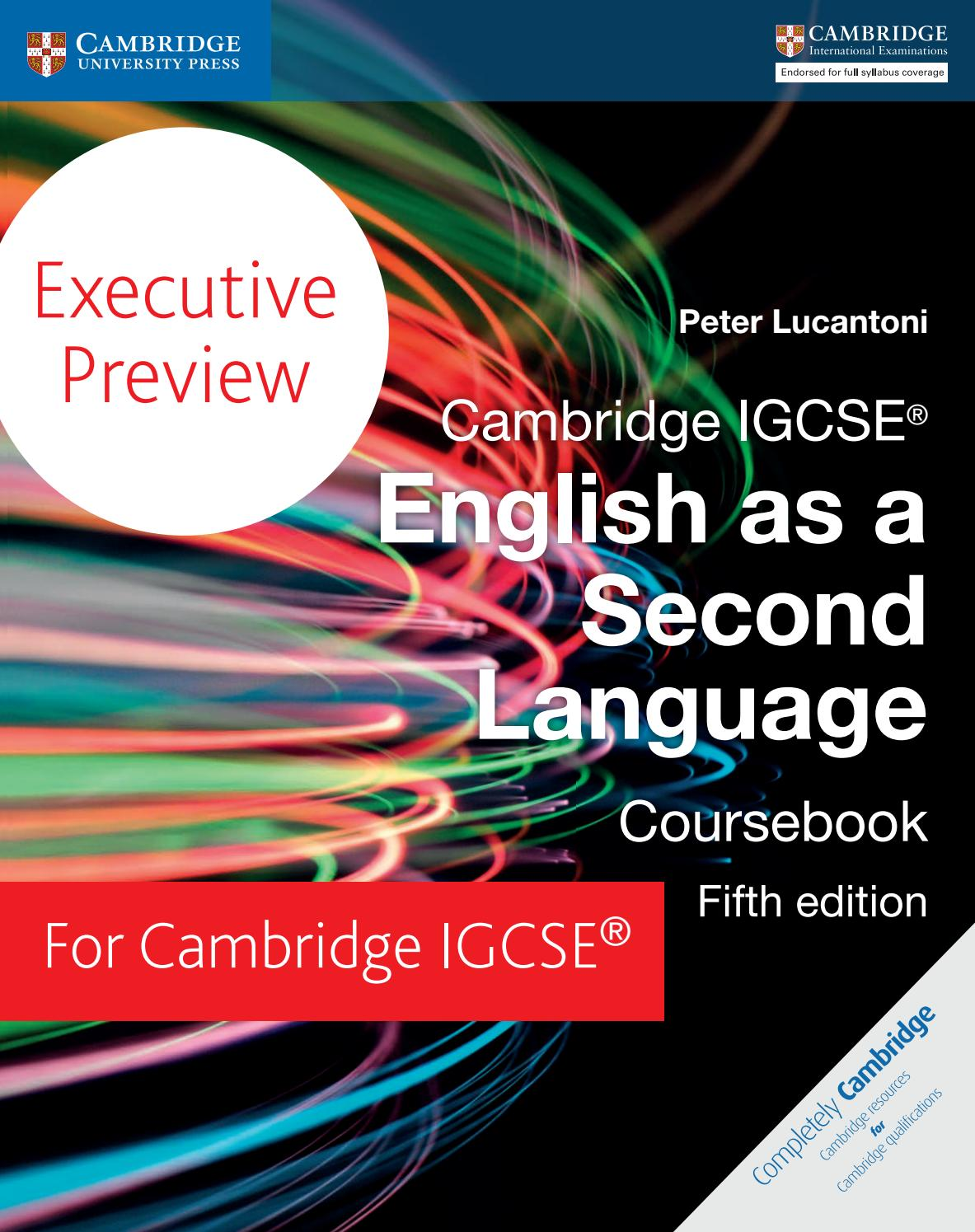 Executive Preview English As A Second Language By