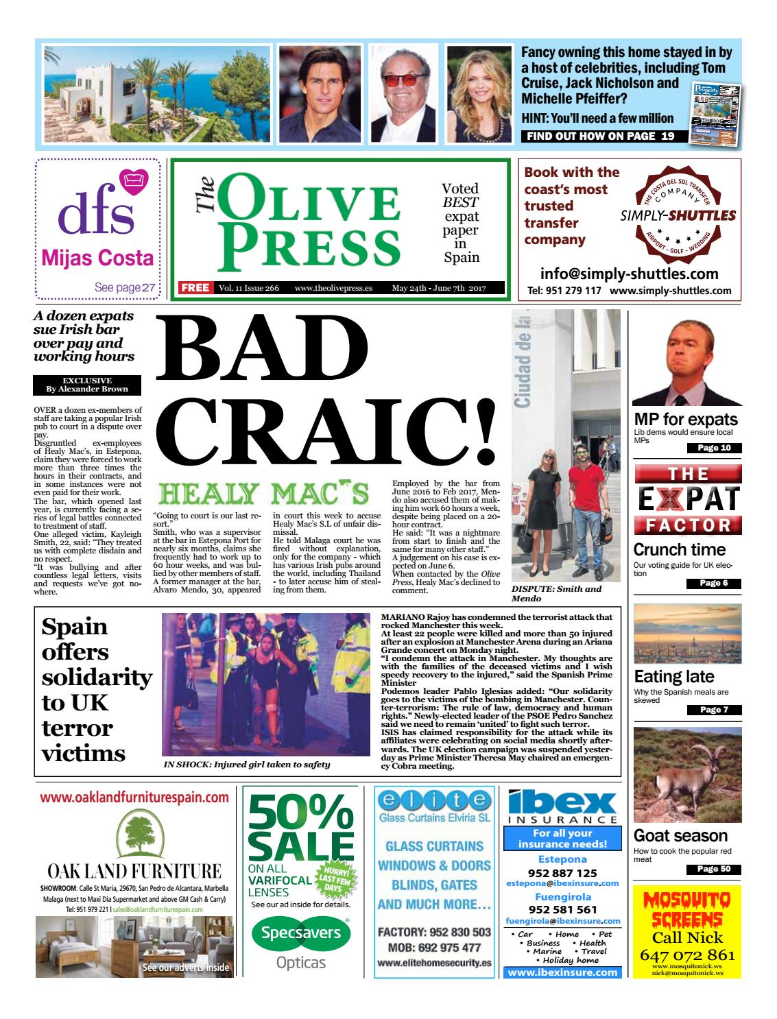 Olive Press Newspaper – Issue 266