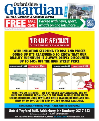 bcd11240e0d 25 may 2017 oxfordshire guardian witney by Taylor Newspapers - issuu