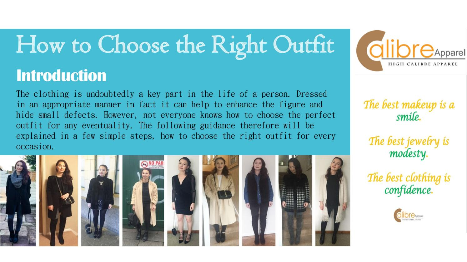 How to choose right outfit by Ketherin Jonsson
