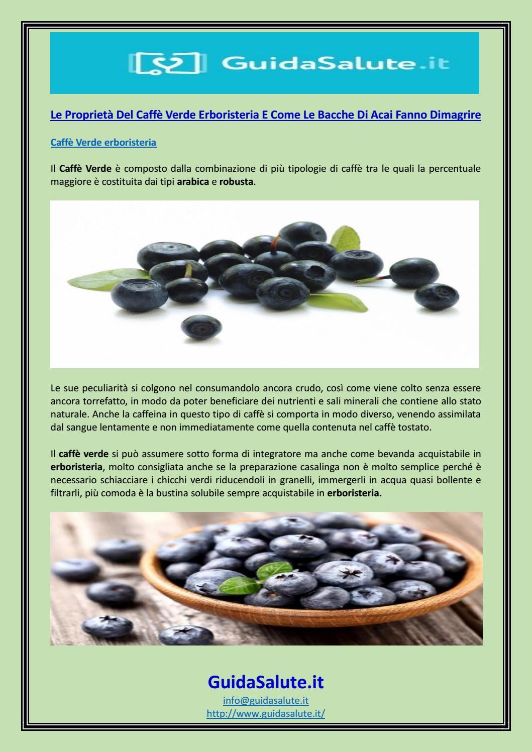 pillole naturali di dieta di bacche di acai