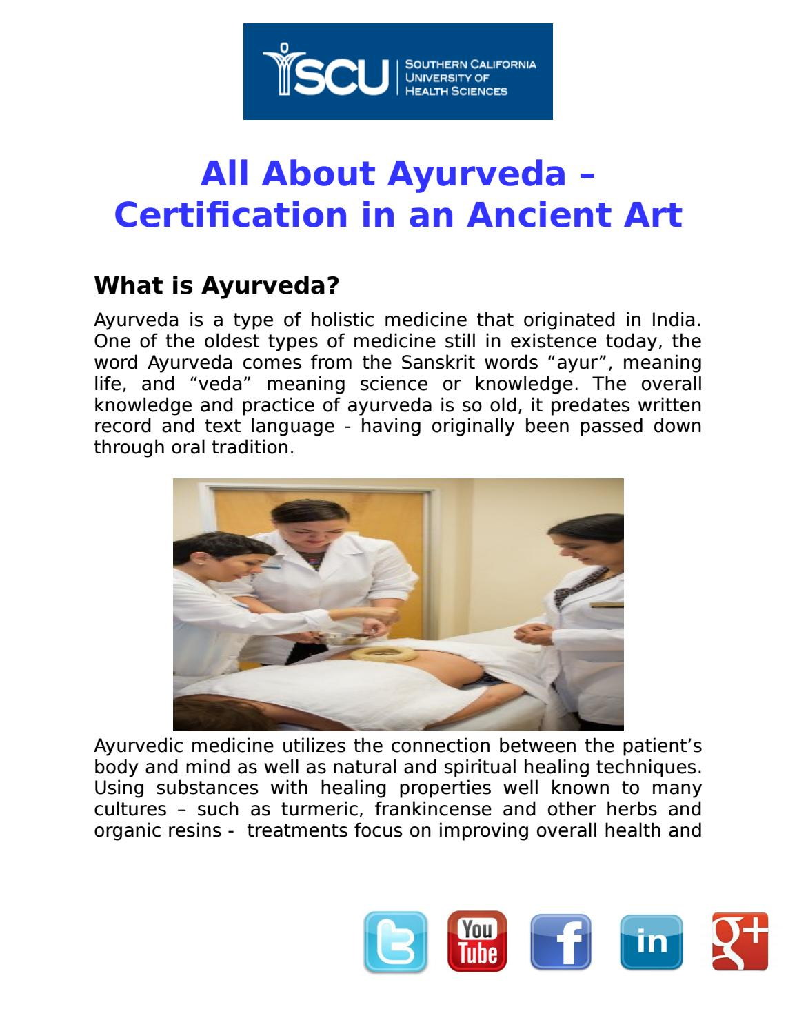 All about ayurveda certification programs by simonegil issuu 1betcityfo Image collections
