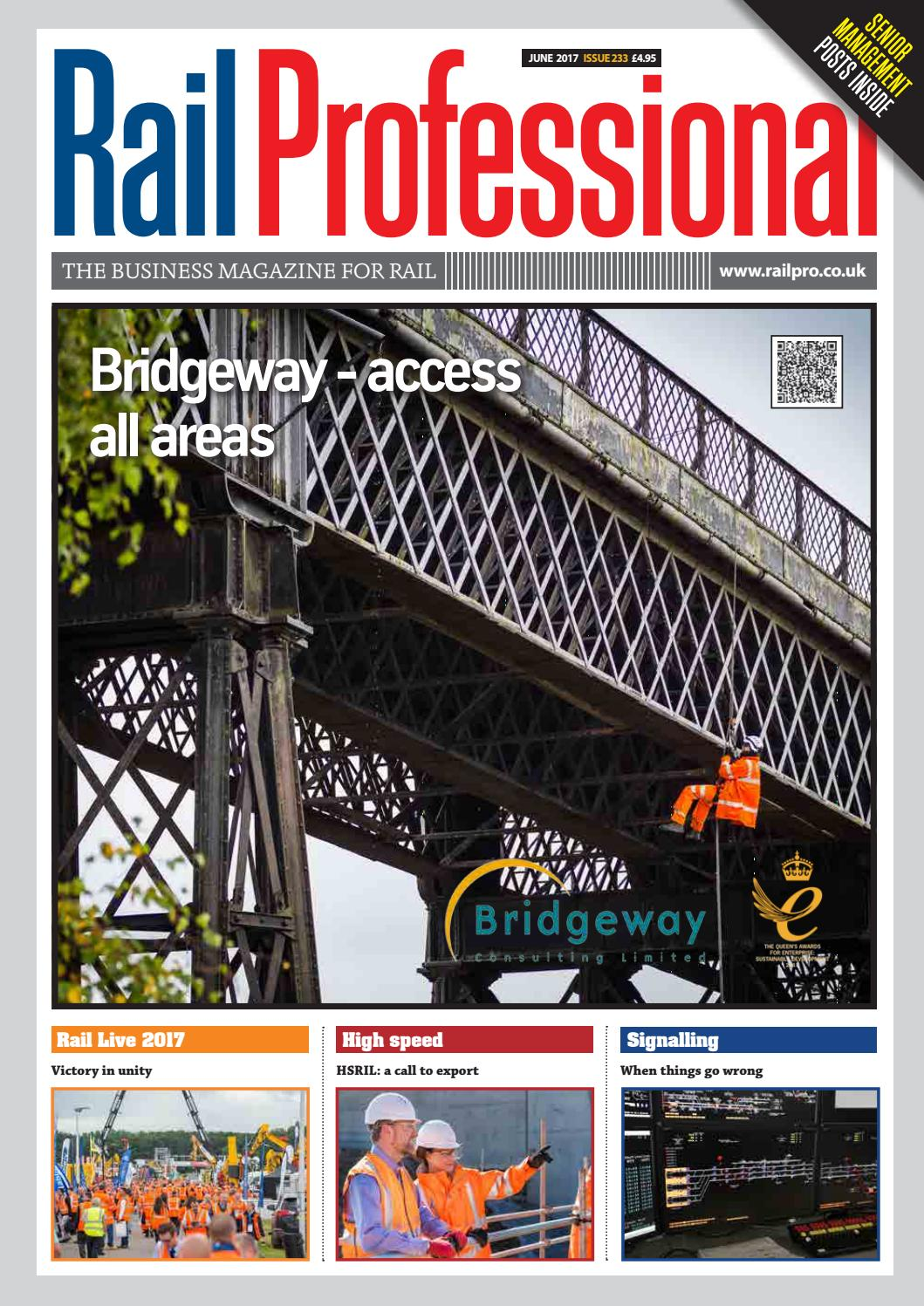 Rail Professional June 2017 By Magazine Issuu Ballmilldiagram Ball Mill Diagram Http Wayanadnoticeboardcom