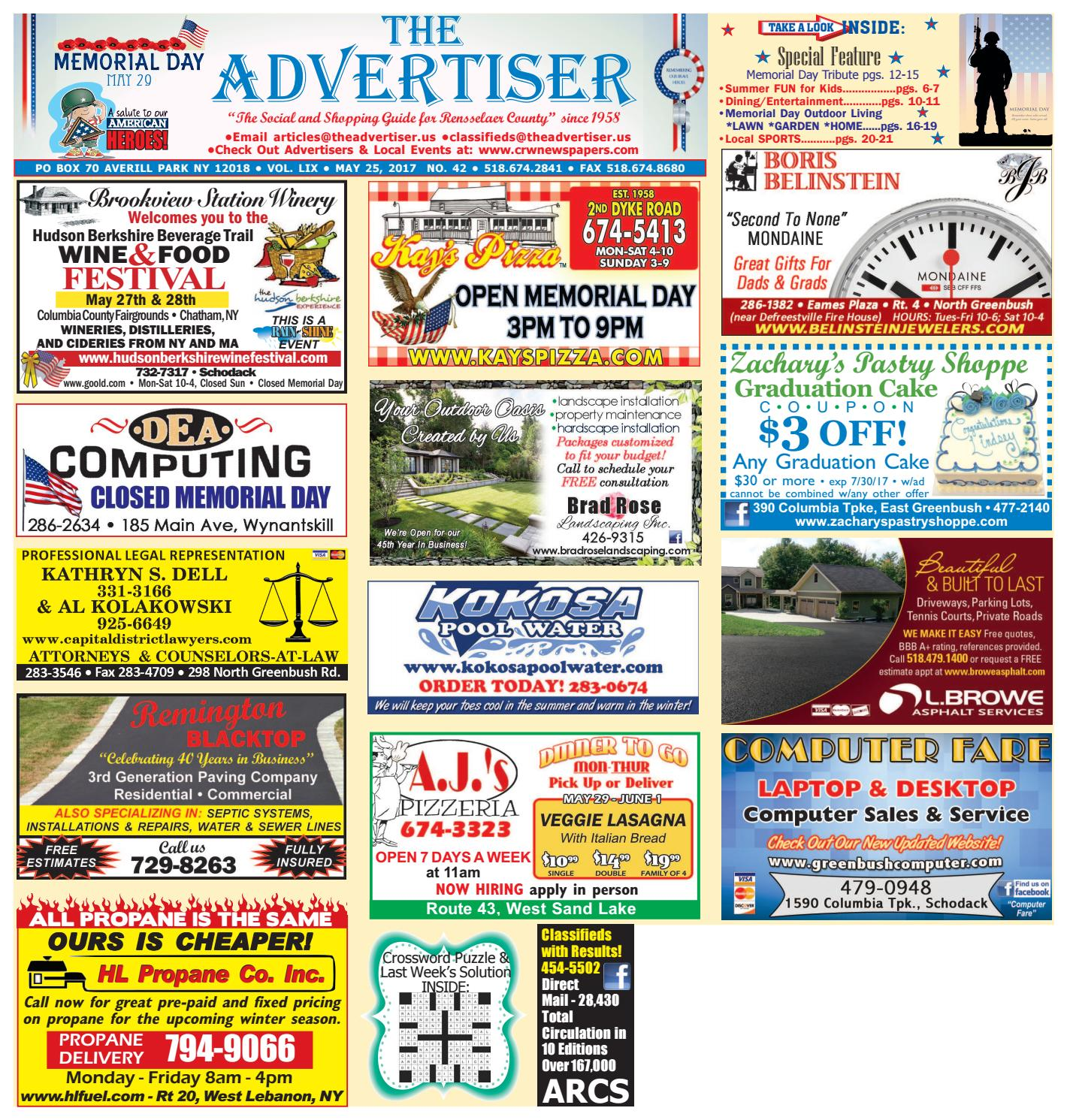 1d25fa872193 Advertiser South 052517 by Capital Region Weekly Newspapers - issuu