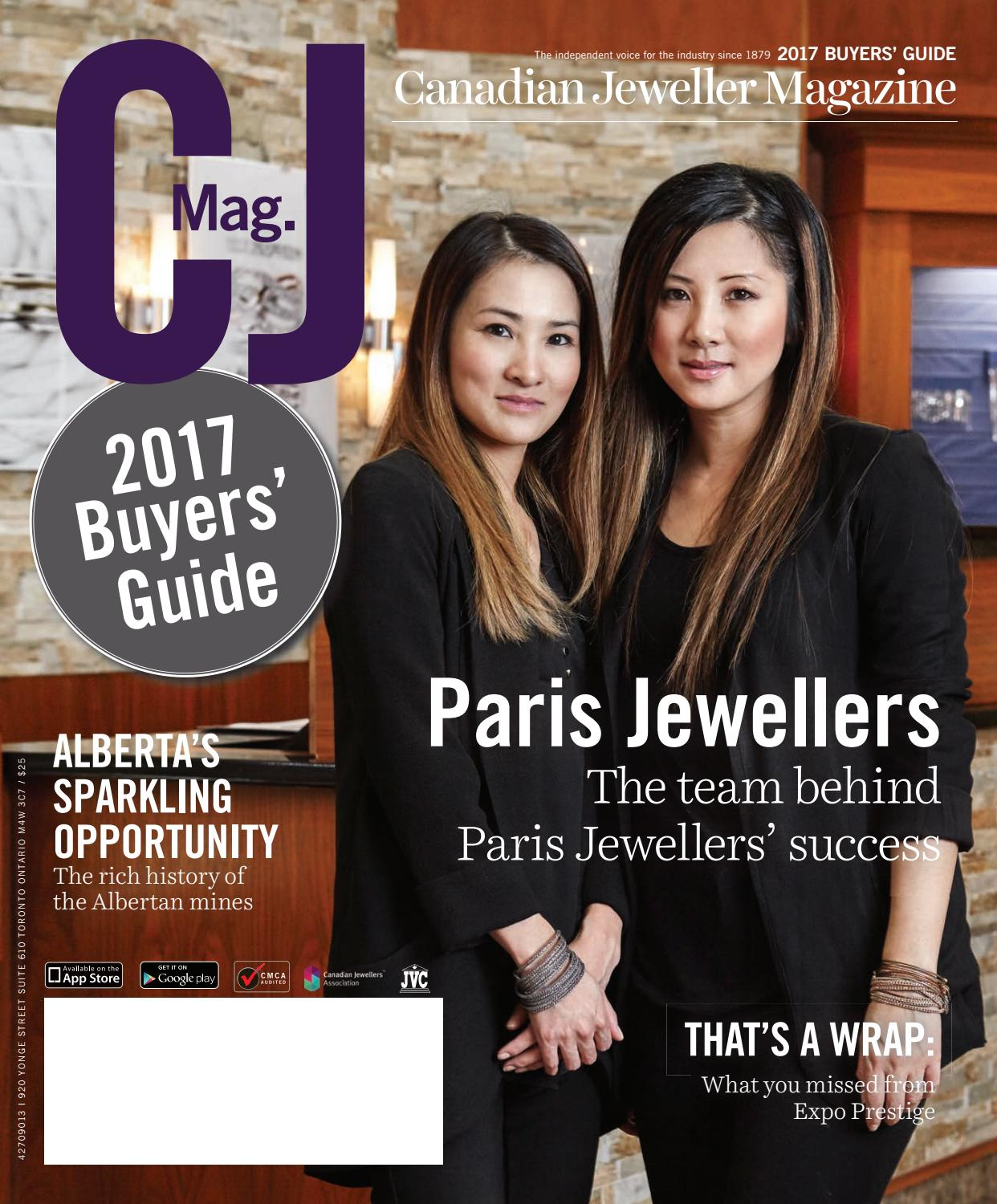 fd857dcfcc93 CJ 2017 Buyers  Guide Preview by Canadian Jeweller Magazine - issuu