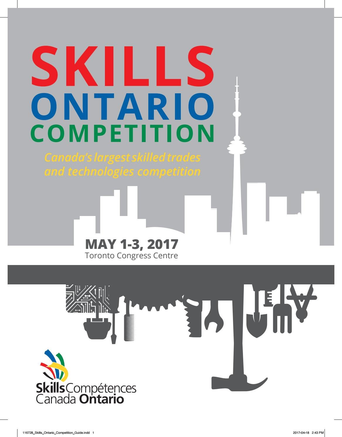 2017 Skills Ontario Competition Guide by Skills Ontario - issuu