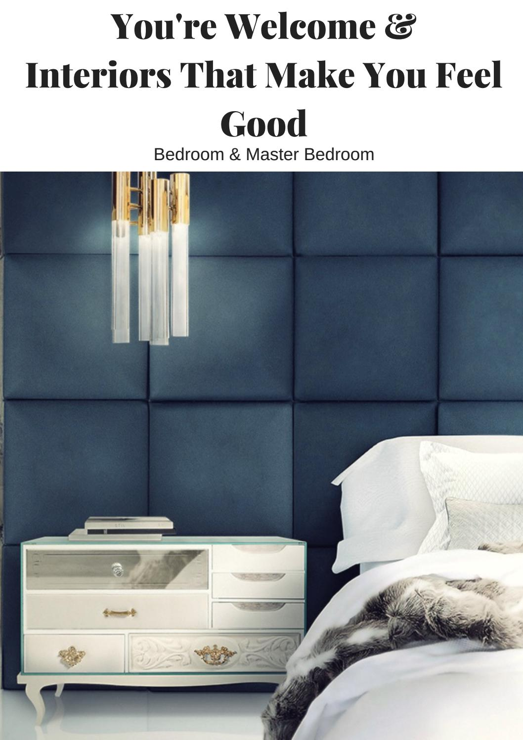 You Re Welcome Interiors That Make You Feel Good Bedroom Master Bedroom By Home Living Magazines Issuu