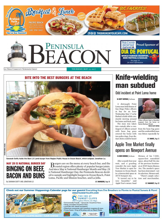 the peninsula beacon 05 25 17 by san diego community newspaper