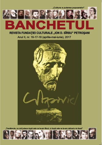 Banchetul nr. 16-17-18 , 2017 by Hopernicus - issuu 2bdfeced5a