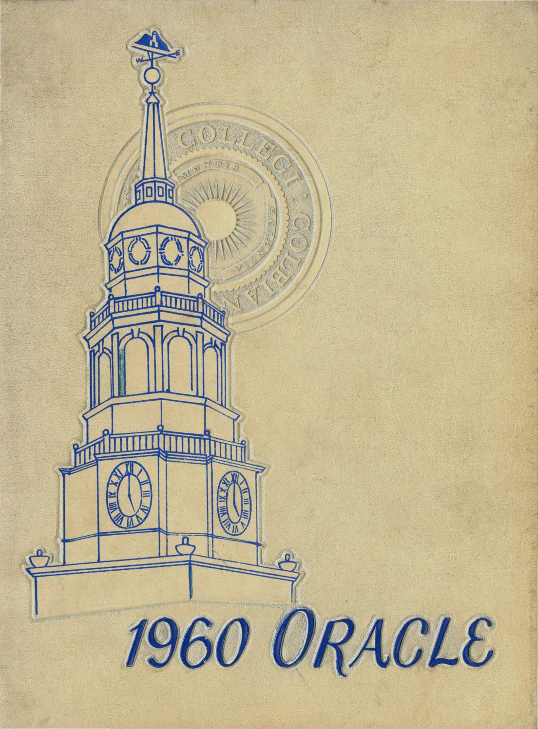 The Colby Oracle 1960 by Colby College Libraries - issuu