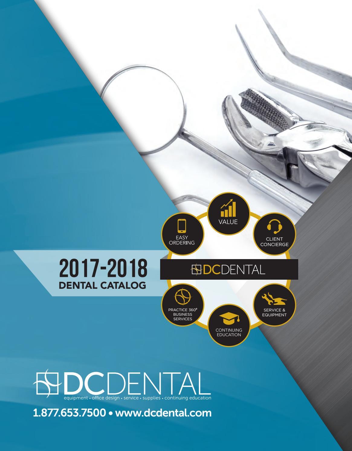2017-2018 dc dental catalog by dc dental - issuu