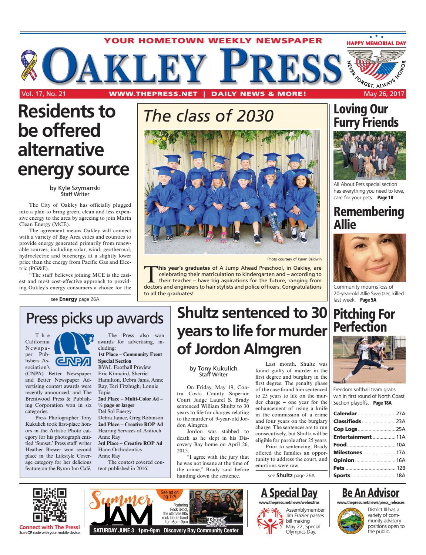 e0f985e715 Oakley Press 05.26.17 by Brentwood Press   Publishing - issuu