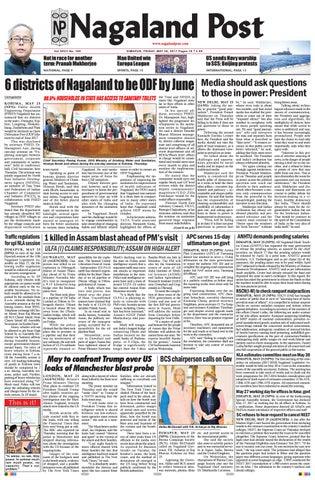may 26 2017 by nagaland post issuu