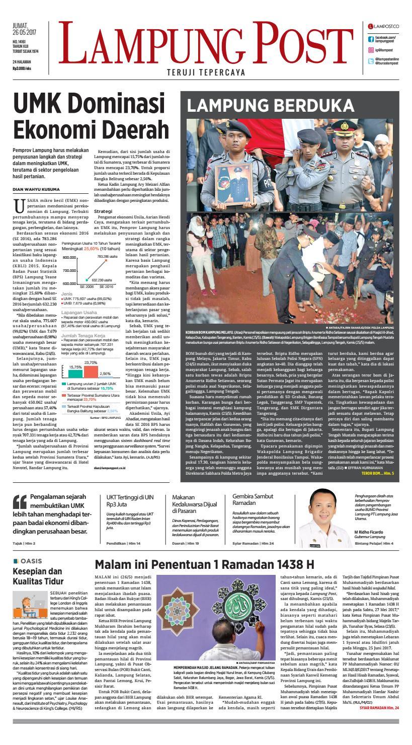 Lampung Post Jumat 26 Mei 2017 By Issuu Rejeki Anak Soleh Sony Playstation 4 Call Of Duty Infinite Warfare