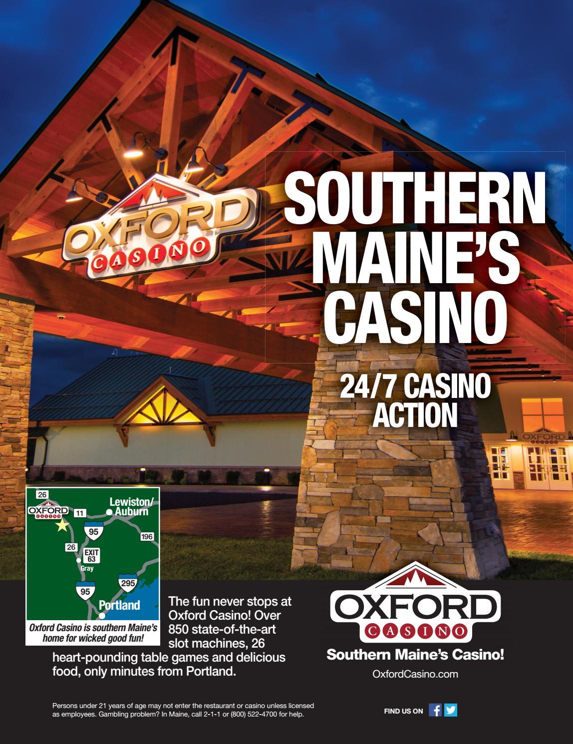 Oxford maine casino