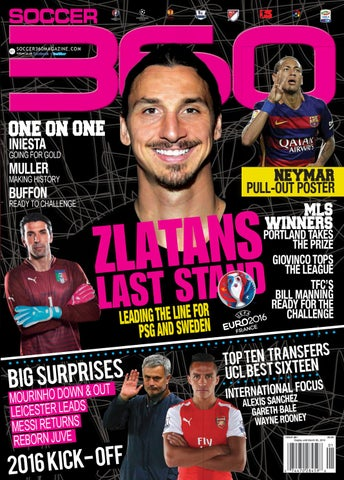49d0597b Issue 61 digital Jan/Feb 2016 by Soccer 360 Magazine - issuu