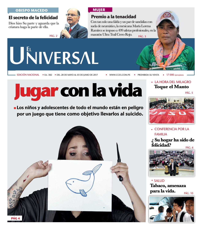 Ed 382 by EL UNIVERSAL PERU - issuu
