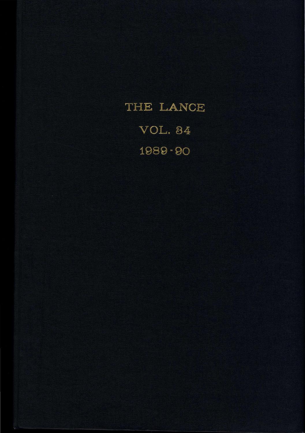 1989-1990 Spring Lance by Westside Foundation - issuu