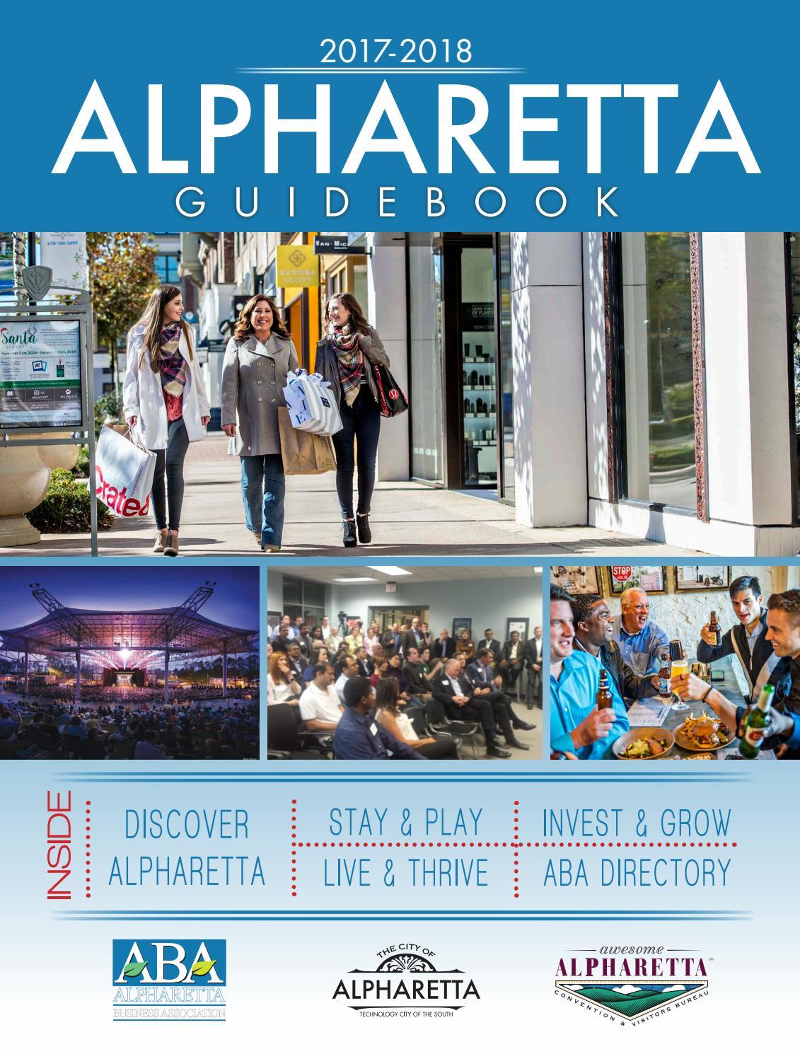 Alpharetta Guidebook 2017 by PubMan, Inc. - issuu