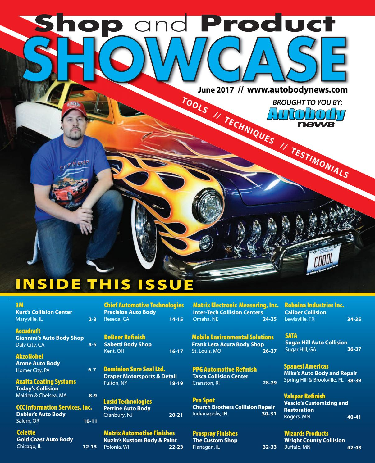 June 2017 Shop & Product Showcase By Autobody News