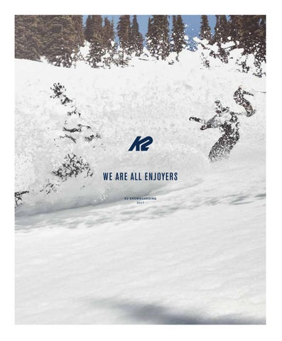 ed98df5bb 17/18 K2 Snowboard Catalogue by Sportive NZ - issuu