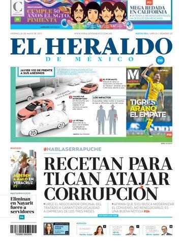 El Heraldo de México 26 de Mayo 2017 by El Heraldo de México - issuu 133cfc374c5eb