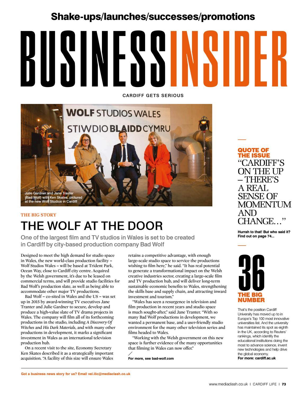 Cardiff Life - Issue 168 by MediaClash - issuu