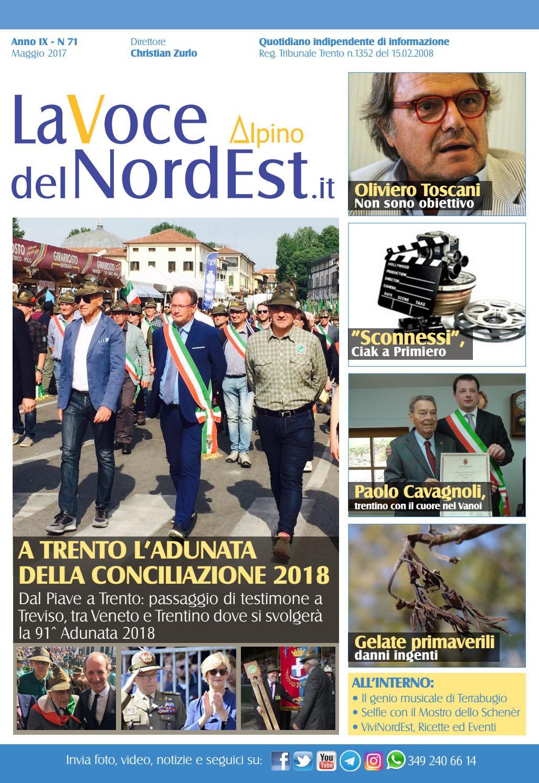 La Voce del NordEst N°71 maggio 2017 by Detto   fatto - issuu 5e141ee3b344