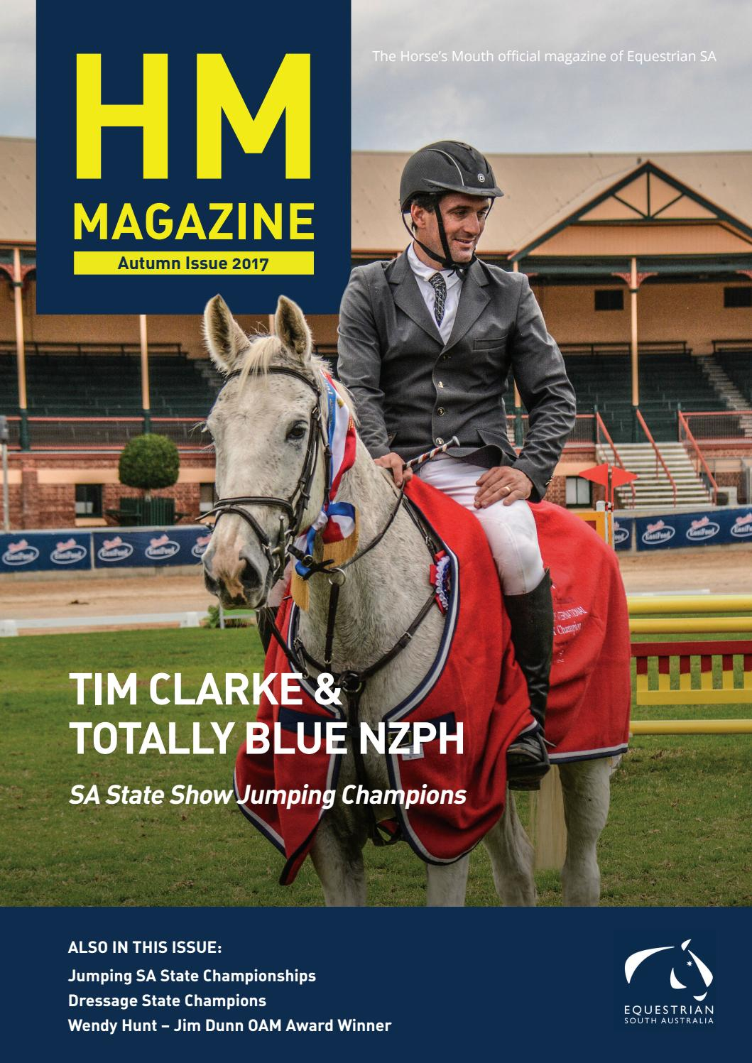Champion Driving School >> The Horse's Mouth | Autumn issue 2017 by Equestrian SA - Issuu