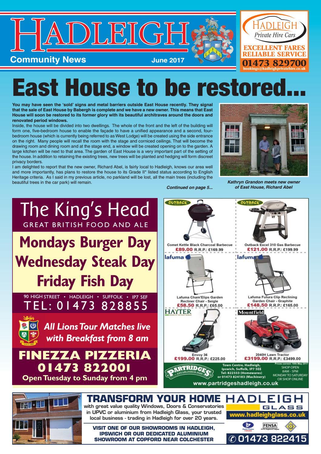 Hadleigh Community News, June 2017 by Keith Avis Printers