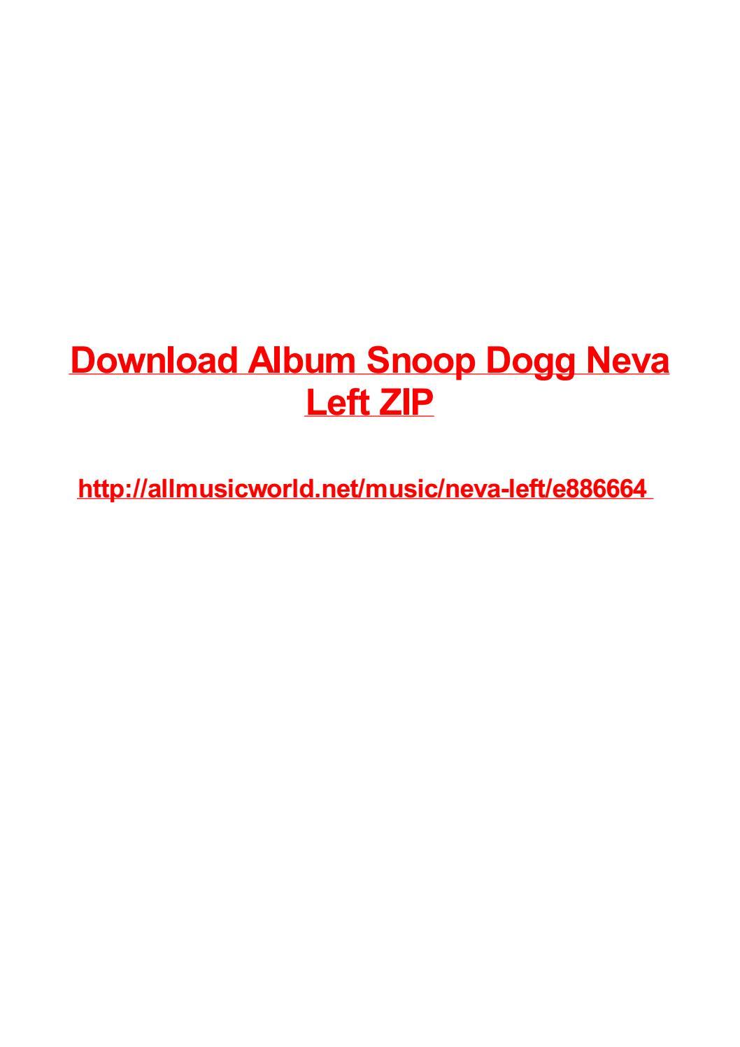 snoop dogg discography download zip