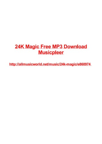 24k magic free mp3 download musicpleer by vjollca alinger issuu 24k magic free mp3 download musicpleer 24k magic free mp3 download musicpleer seatac download movies for ipod touch the surrey with a fringe on top lyrics stopboris Images