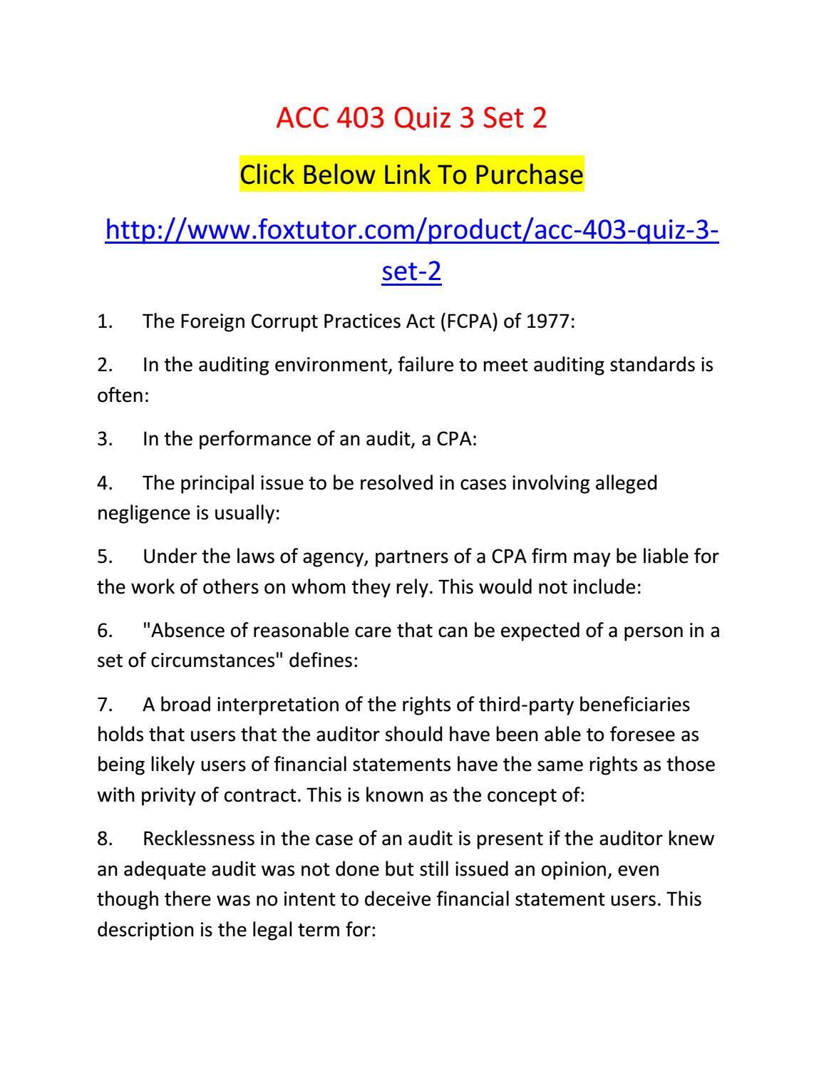 auditor negligence case law